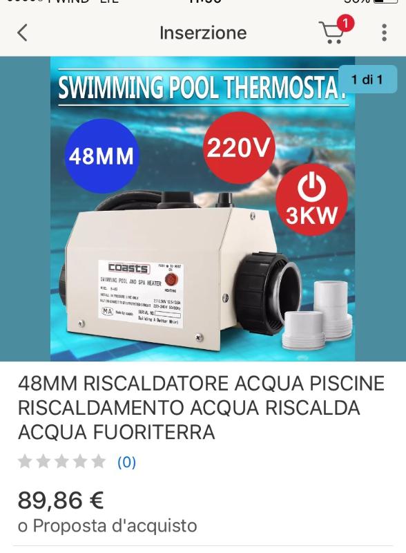 Come faccio a collegare un riscaldatore piscina